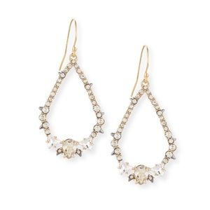 Alexis Bittar Crystal Encrusted Spiked Earrings